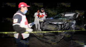 Brutal encontronazo en la México - Tuxpan