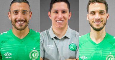 Chapecoense recuperó a sus tres sobrevivientes