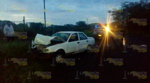 Choca su auto en Cerro Azul