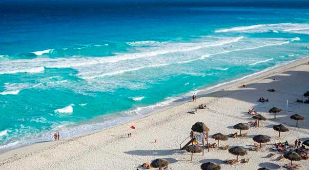 Crece 6.9% arribo de turistas extranjeros a México en 9 meses