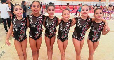 Destacado papel de gimnastas veracruzanas en nacional