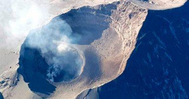 Detectan domo de lava de 250 metros en cráter del 'Popo'
