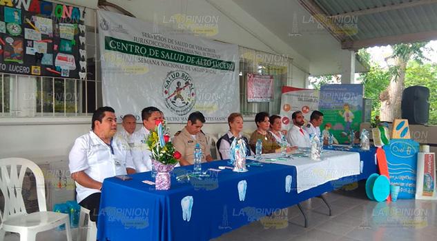 En marcha la Segunda Semana Nacional de Salud Bucal en Tuxpan