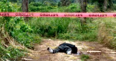 Encuentran cuerpo decapitado en Atzalan