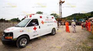 Evacuan pozo de PEMEX por simulacro en Tihuatlán