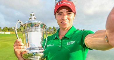 Gabriela López, segunda golfista mexicana en ganar un torneo de LPGA