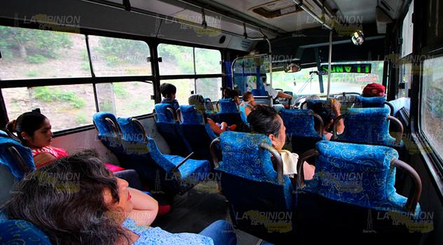 Incrementan los costos del pasaje en Papantla