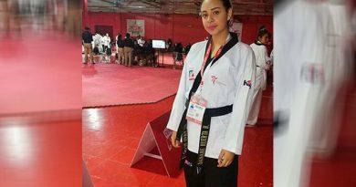 Jarocha taekwondoín de oro