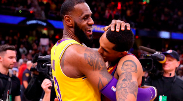 LeBron vive espectacular regreso a Cleveland con Lakers