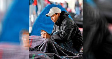 Llegan a CdMx 1,200 migrantes; esperan hasta 5 mil