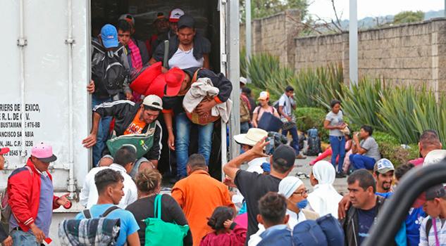 Llegarán a Tijuana al menos 350 migrantes de caravana