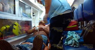 Lo hieren en un hombro tras intento de asalto en Tuxpan