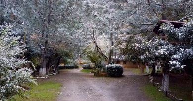 Montañas de Nuevo León se visten de blanco