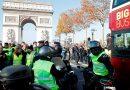 Muere una manifestante en protestas en Francia