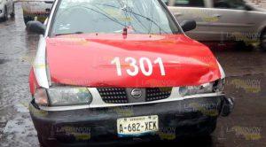 No hace alto total y provoca aparatoso accidente en Tuxpan
