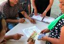 Reciben primer pago por trabajo 546 migrantes en Chiapas