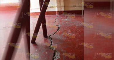 Repararán escuelas en Poza Rica dañadas por sismo