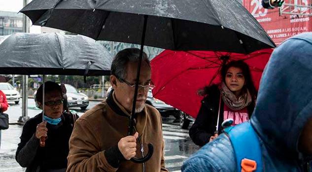 Se esperan tormentas muy fuertes en el sureste del país