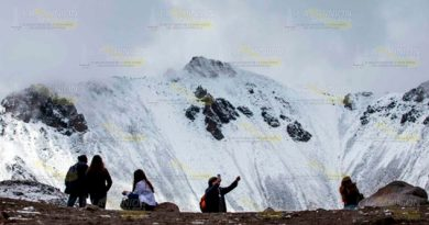 Se tiñe de blanco Nevado de Toluca