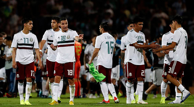 Selección Mexicana a la baja en el ranking mundial de FIFA
