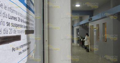 Suspenden actividades dependencias del ayuntamiento de Álamo