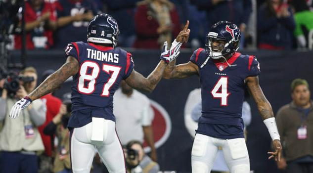 Texans dominan a los Titans y afianzan el liderato del sur de la americana