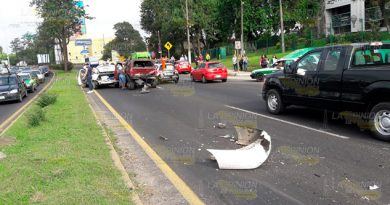 Trágico accidente en la Carretera Xalapa - Veracruz