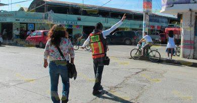 Tránsito Municipal sigue con labores de Tránsito Estatal en Álamo