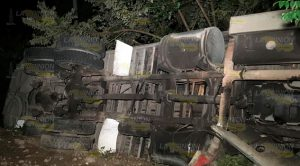 Vuelva torton sobre la carretera Pachuca - Tuxpan