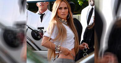 ¿Vulgar? El revelador outfit de Jennifer Lopez que genera polémica