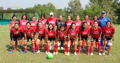 Amigas de Cuitlahuac están en la semifinal del Torneo de Futbol de los Barrios