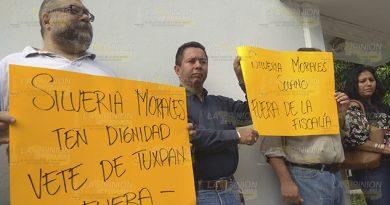 Litigantes de Tuxpan y la región norte, quieren fuera a la fiscal