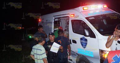 5 lesionados en choque sobre el tramo carretero Chote - Agua Dulce