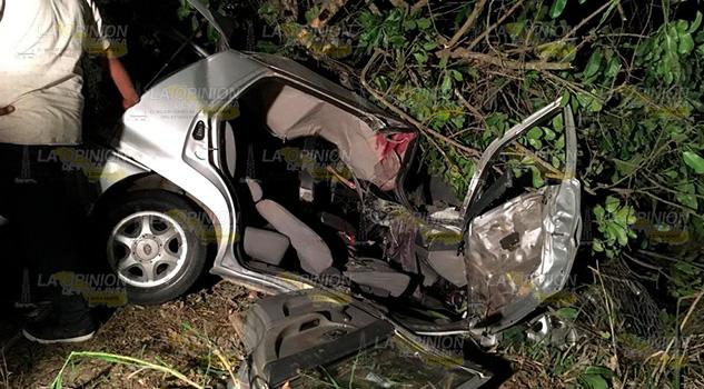 Atroz accidente sobre la carretera Tuxpan – Poza Rica