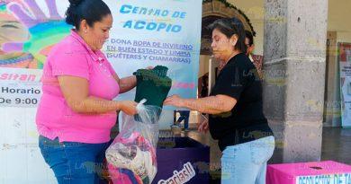 Abrigotón para la gente humilde en Tlapacoya