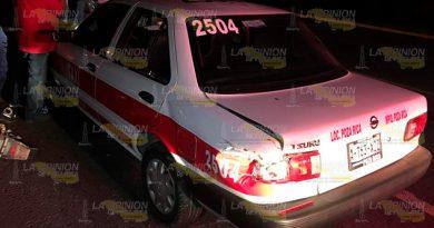 Accidente múltiple frente al IMMS #73, varios lesionados