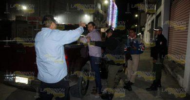 Agreden a mujer en vía pública; en la Tajín