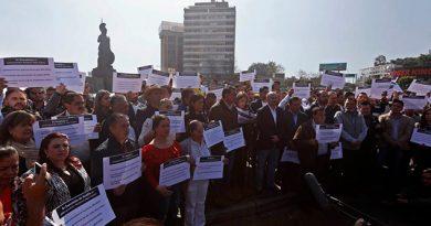 Alcaldes de Jalisco protestan por Presupuesto 2019