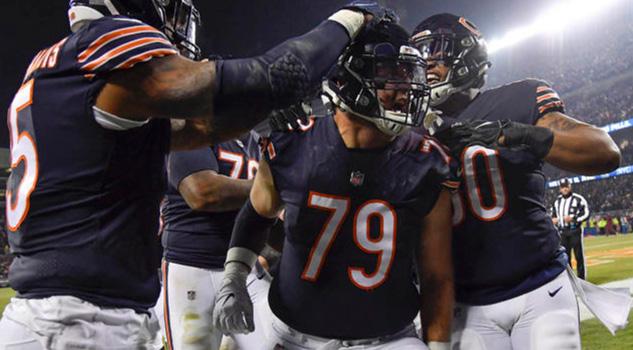 Cátedra defensiva de Bears en importante triunfo sobre los Rams