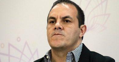 Cuauhtémoc Blanco pide remover a fiscales de Justicia y Anticorrupción en Morelos