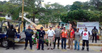 Dan banderazo a operativo Guadalupe-Reyes en Gutiérrez Zamora
