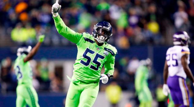 Defensiva de Seahawks brilla en la victoria sobre los Vikings