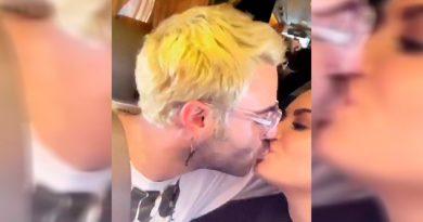 Demi Lovato y Henry Levy llevan su amor a las redes sociales