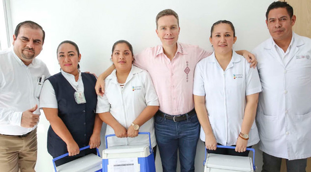 Destacan avances en salud en Chiapas