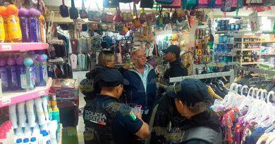Detienen Hombre Robaba Tienda