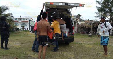 Dos menores estuvieron a punto de ahogarse en Tecolutla