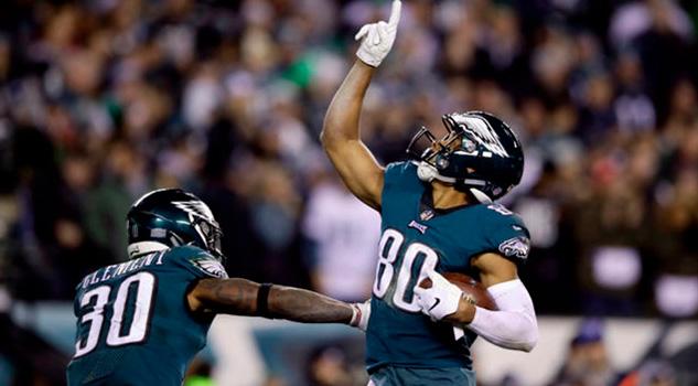 Eagles se impone a Redskins para seguir con vida y en busca de los playoffs