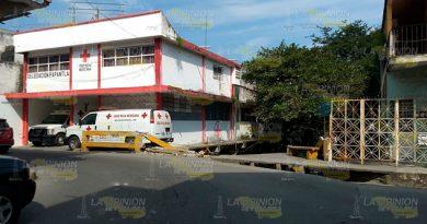 Edificio en riesgo de colapsar en Papantla