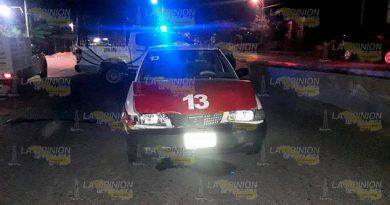 Encontronazo en carretera a la Sierra de Otontepec 4 heridos