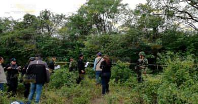 Encuentran cadáver putrefacto en Tuxpan